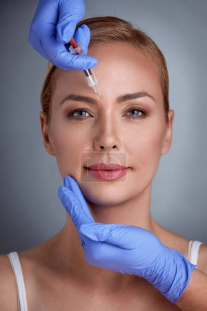 face treatment of botox