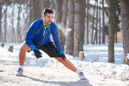 Exercise for legs outdoor