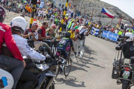 Nairo Quintana on Mont Ventoux - Tour de France 2013