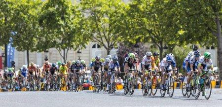 Paris, France - July 24, 2016: The feminine peloto...