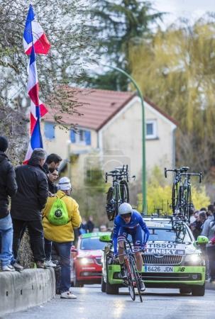 The Cyclist Andrew Talansky - Paris-Nice 2016