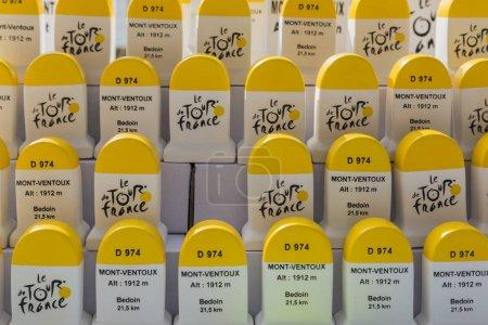 Mont Ventoux Artisanal Milestones - Souvenirs of Tour de France