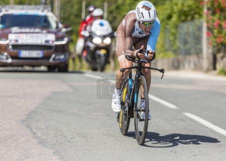 The Cyclist Axel Domont - Criterium du Dauphine 2017