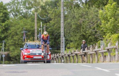 The Cyclist Sonny Colbrelli - Criterium du Dauphine 2017
