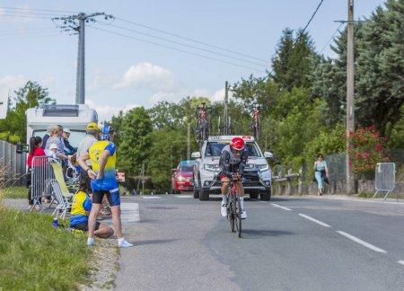 The Cyclist Diego Ulissi - Criterium du Dauphine 2017