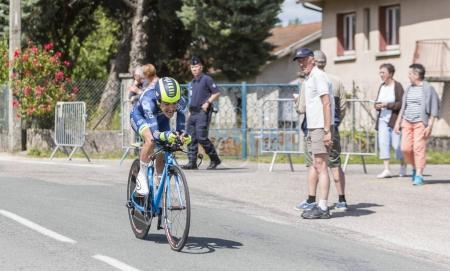 The Cyclist Guillaume Martin - Criterium du Dauphine 2017