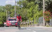 The Cyclist Julien Simon - Criterium du Dauphine 2017