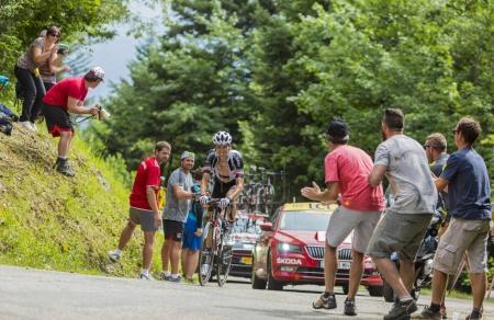 The Cyclist Warren Barguil - Tour de France 2017