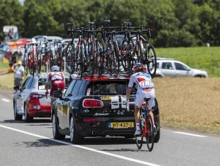 The Cyclist Rudy Molard - Tour de France 2017