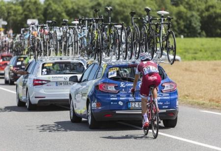 The Cyclist Tiago Machado - Tour de France 2017