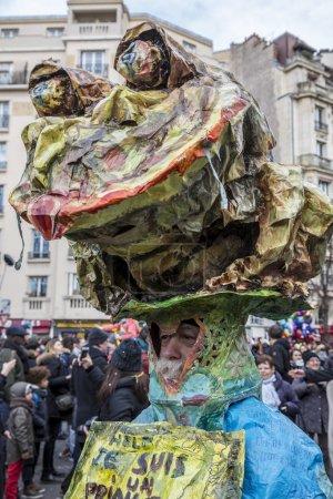 Disguised Person - Carnaval de Paris 2018