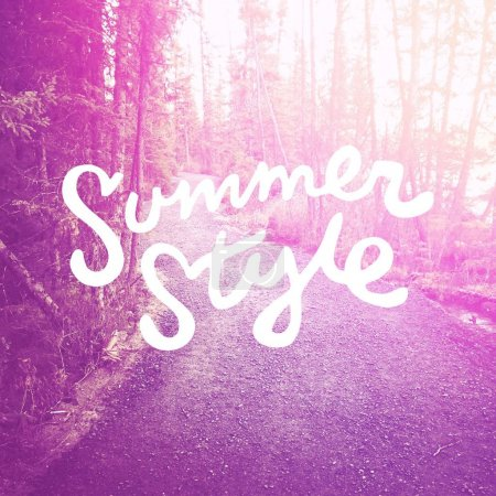 summer style nature background