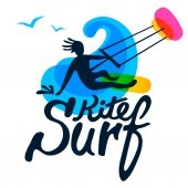 Surfer logo template