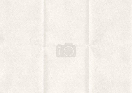 Photo for Retro white paper folded texture background. - Royalty Free Image