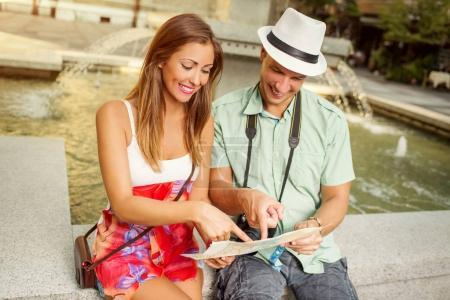 Beautiful Couple Tourist