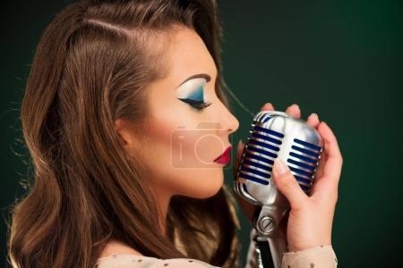 Retro Female Singer