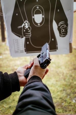Man Loading Gun