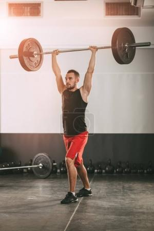 Crossfit Workout in gym