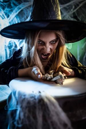 Young Witch Is Cooking With Magic Bouns