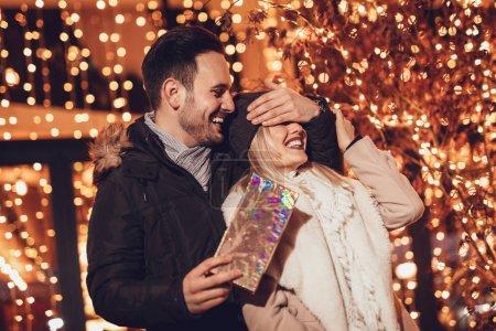 Happy Couple Enjoy Shopping