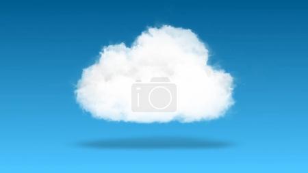 Cloud computing, technology concept