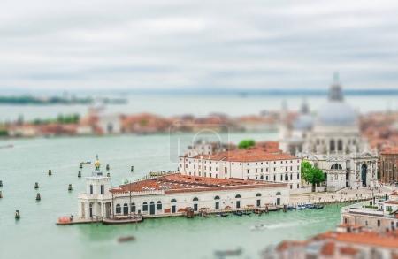 Cityscape of Venice with Santa Maria della Salute church