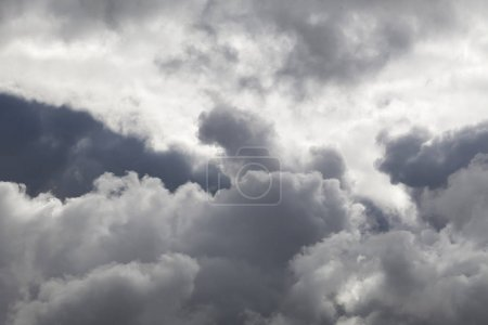 clouds thunderclouds gray sky