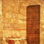 Egypt. Luxor. Deir el-Bahari (Deir el-Bahri). The ...