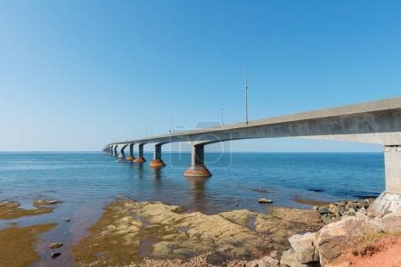 Confederation Bridge over Northumberland Strait
