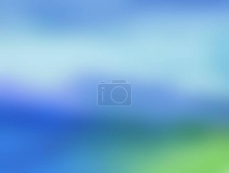 Abstract blur blue soft focus background.