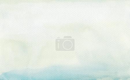 Photo pour Abstrait acrylique et aquarelle tache peint fond. Papier texturé . - image libre de droit