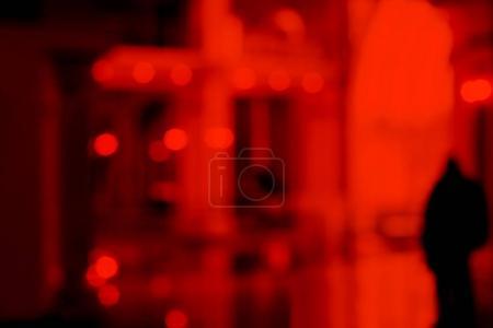 Foto de De-focuses business center interior. Blur background. - Imagen libre de derechos