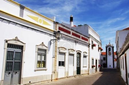Foto de Antigua calle de S Bras de Alportel, Algarve, Portugal - Imagen libre de derechos
