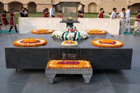 Rajghat New Delhi Memorial at