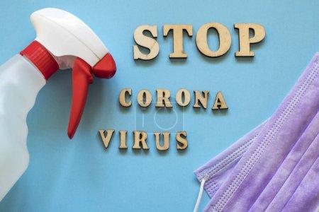 Photo for Coronavirus danger concept photo. covid-19 - Royalty Free Image