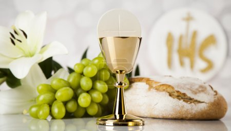 Holy Communion concept of christian religion