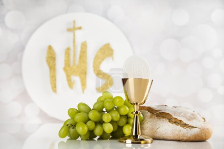 Holy communion for christianity religion, elements