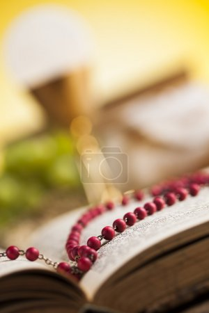 Bible, sacrament of communion background