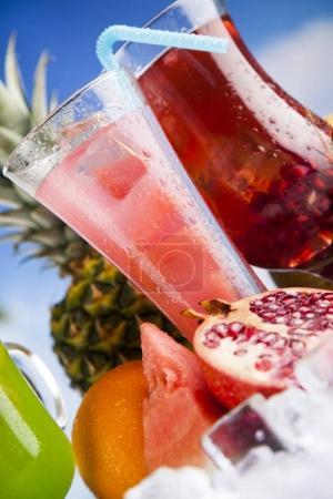 Exotic summer drinks