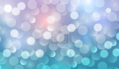 Illustration for Blue lights background vector abstract illustration - Royalty Free Image