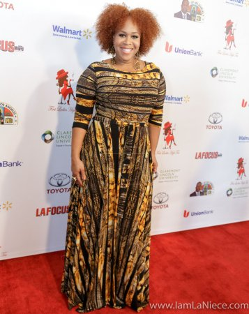 Photo for A red carpet affair for the Whos Who of women in the church and black community, featuring celebrity guests, community leaders and honorees. Renowned actress Lynn Whitfield received the prestigious Legacy Award - Royalty Free Image