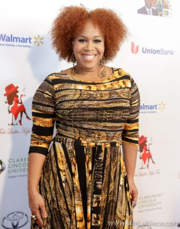 Tina Campbell at The 19TH Annual First Ladies High Tea 10-22-16 at the Beverly Hilton Hotel in Beverly Hills, CA