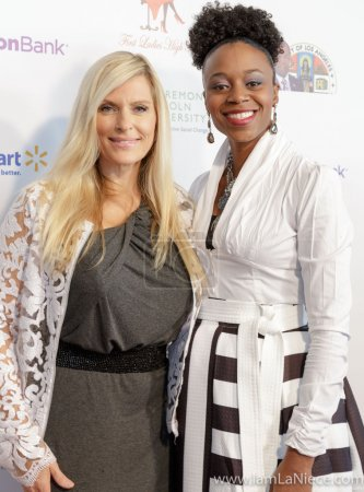 Brenda Epperson,Latisha Hines at The 19TH Annual First Ladies High Tea 10-22-16 at the Beverly Hilton Hotel in Beverly Hills, CA