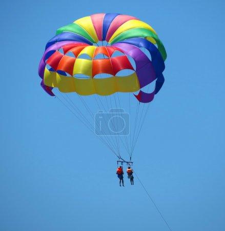 parasailing summer sport