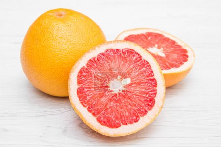 Photo for Group of fresh grapefruit - Royalty Free Image