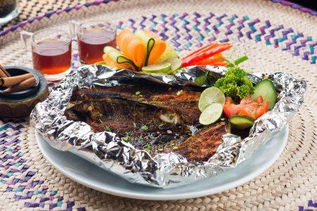 Grilled arab fish