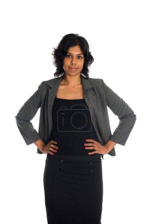 beautiful Indian businesswoman