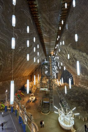 Turda salt mine in Romania