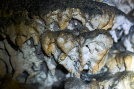 speleothemes in cave interior
