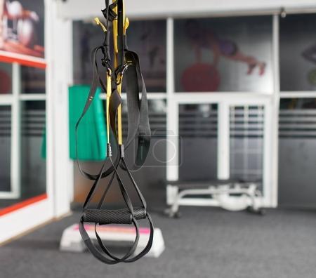 suspension trainer in gym